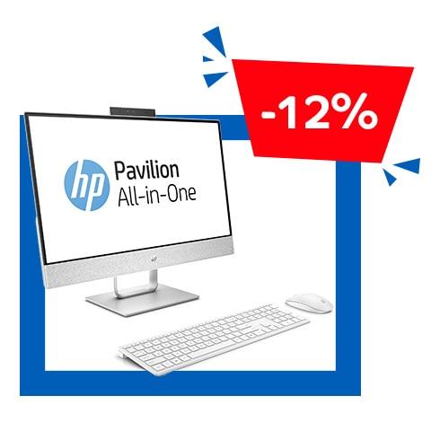 HP AIO 24-R100NN Pavilion, asztali számítógép