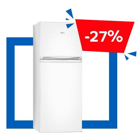 Amica KGC15686W kétajtós hűtőszekrény