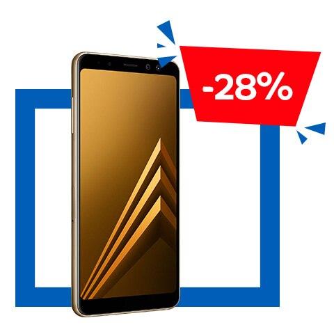 Samsung Galaxy A8 (2018) Mobiltelefon