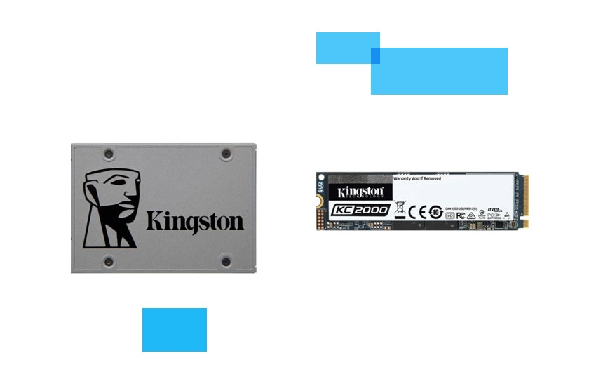 Kingston SSD meghajtók
