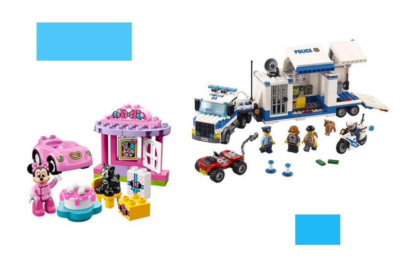 Megjelölt Lego építőkészletek