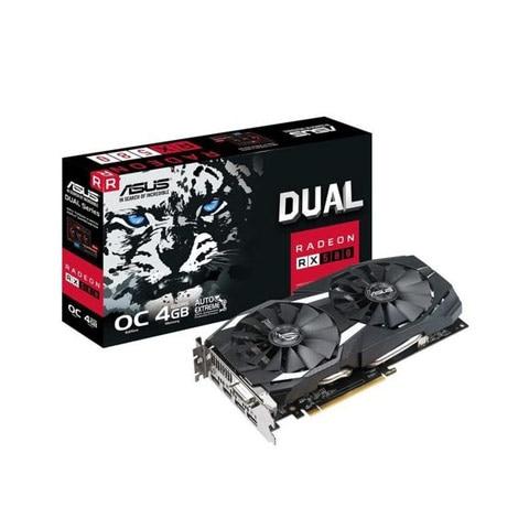 Asus Radeon RX 580 Dual OC videókártya
