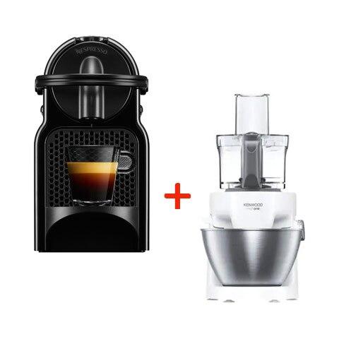 Kenwood KHH300WH konyhai robotgép + De'Longhi Nespresso® Inissia EN80.B kapszulás kávégép