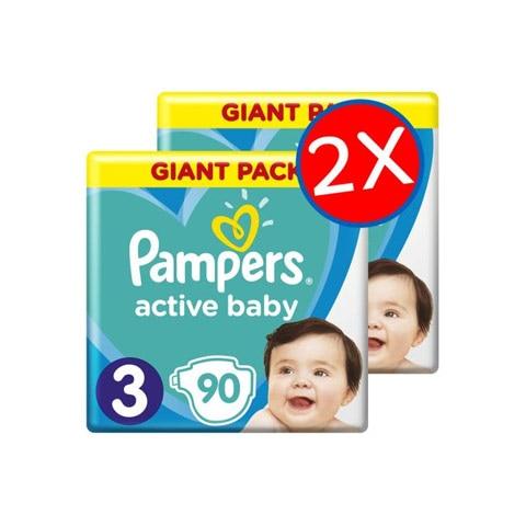 Pampers Active Baby Havi pelenkacsomagok