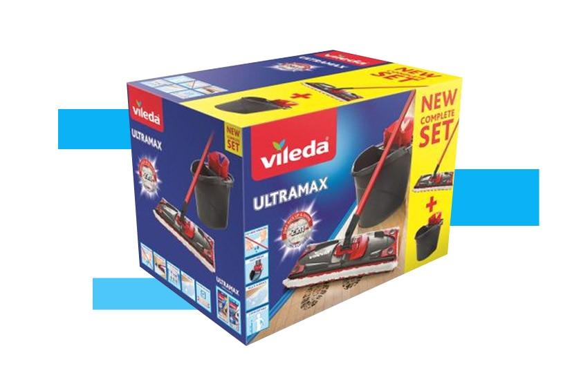 Vileda Ultramax laposfelmosó szett