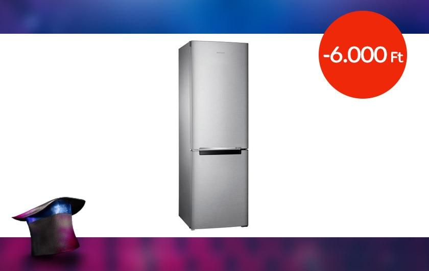 Samsung RB30J3000SA/EF kombinált hűtőszekrény