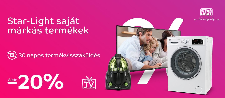 Start-light saját márkás termékek