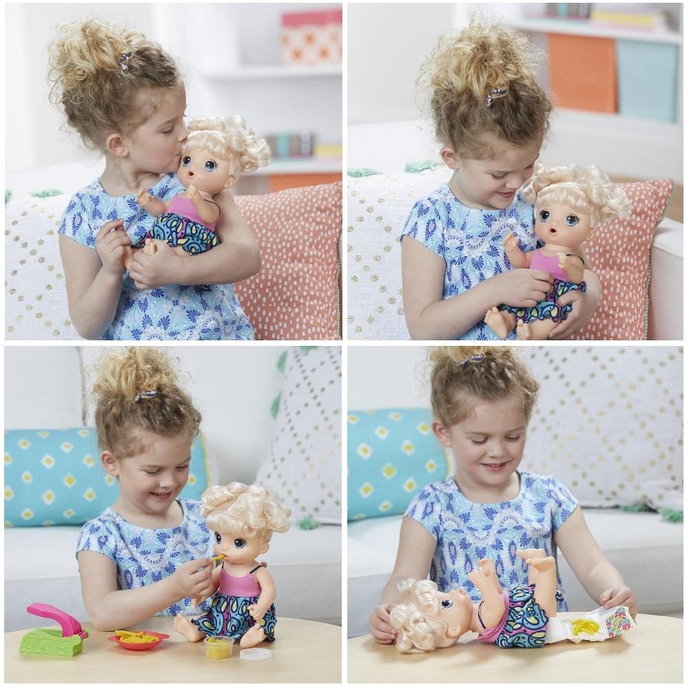 Кукла Hasbro Baby Alive с аксесоари - eMAG.bg