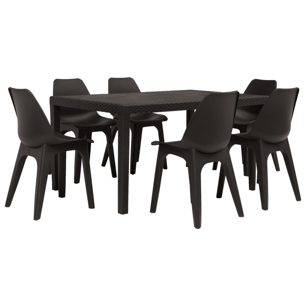 Zestawy ogrodowe plastikowe stół i krzesła najnowsze