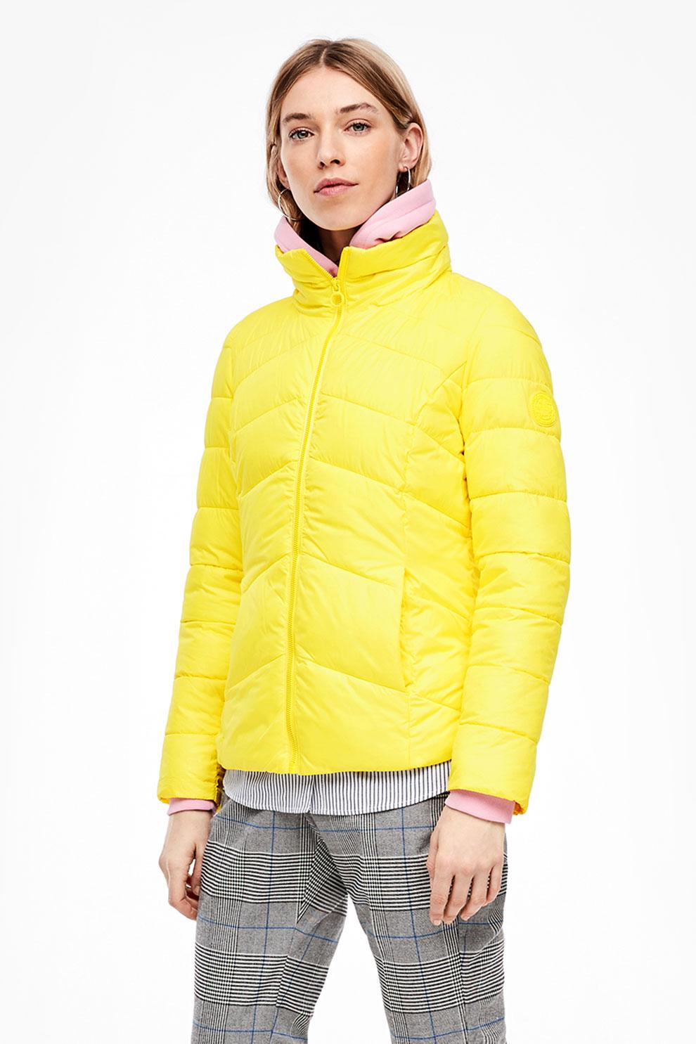 Női kabátok, dzsekik és mellények s.Oliver Szín Sárga eMAG.hu