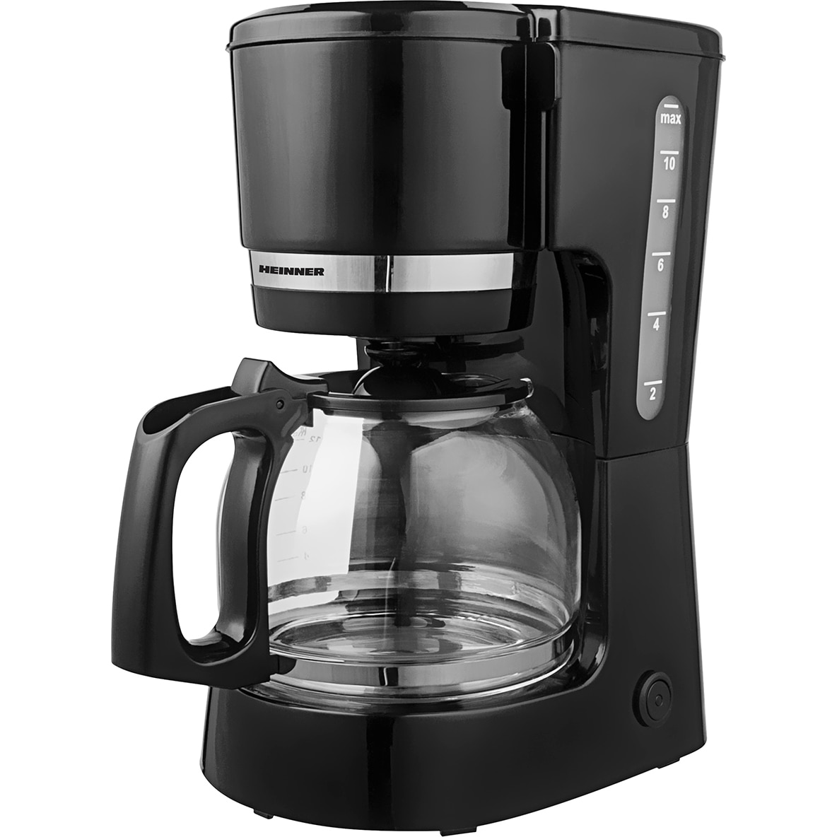 Heinner HCM 800BK Kávéfőző, 800W, 1.5L kapacitás, Mosható